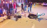 Xe máy tông nhau cực mạnh giữa đêm ở Sa Pa, 2 người tử vong