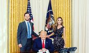 """Điều ít biết về cuộc sống của nàng dâu """"tài sắc vẹn toàn"""" nhà Tổng thống Trump"""