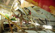 Bão số 5 đổ bộ khiến 22.000 nhà dân tốc mái, 110 người bị thương