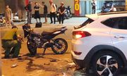 Tông vào ô tô bên đường, 2 thanh niên đi xe máy tử vong tại chỗ