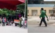Hà Nội: Làm rõ vụ người đàn ông mặc áo Grab hỗn chiến bằng dao tại bệnh viện E