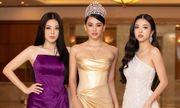 """Dàn hậu đình đám """"đổ bộ"""" họp báo Hoa hậu Việt Nam 2020"""
