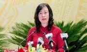 Bà Đào Hồng Lan được bầu làm Bí thư Tỉnh ủy Bắc Ninh