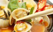 Nghêu hấp Thái cay cay, chua ngọt, ăn ngày thu vô cùng hợp