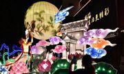 Phố đèn lồng tráng lệ tái hiện khung cảnh Tết Trung thu thời nhà Minh ở Trung Quốc