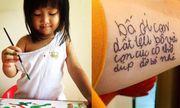 Dòng chữ nguệch ngoạc đầu đời của con gái được bố xăm lên tay, ai đọc cũng phải