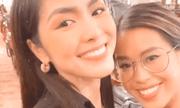 Đứng chung khung hình, Tiên Nguyễn và chị dâu Hà Tăng khiến dân tình bấn loạn vì đẹp