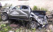 Xe bán tải bị lật, 2 giáo viên tử vong ở Nghệ An: Thầy hiệu trưởng thoát chết nhờ túi khí