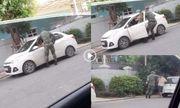 Vụ nam bảo vệ chung cư Royal City túm cổ, đấm đạp tài xế taxi: Công an phường nói gì?