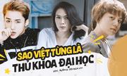 Những sao Việt từng là thủ khoa đầu vào đại học: Nam ca sĩ