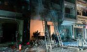 Hà Nội: Cửa hàng gas ở Đan Phượng bất ngờ cháy lớn, nhiều người lớn, trẻ em bị mắc kẹt