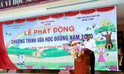 """Tỉnh Hà Nam phát động """"Chương trình sữa học đường"""" năm học 2020-2021"""