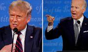 Bầu cử Mỹ 2020: Trump - Biden sẽ bị tắt micro khi đối thủ tranh luận