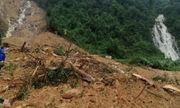 Quảng Bình: Núi lở, trạm bảo vệ Lâm trường Trường Sơn bị vùi lấp hoàn toàn