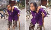 Video: Xúc động cụ bà 80 tuổi cõng bão tải quần áo và mì tôm cứu trợ miền Trung