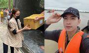 Minh Tú, Huỳnh Vy quyên góp tiền, Trà Ngọc Hằng - Võ Cảnh về miền Trung cứu trợ đồng bào