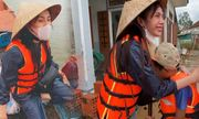 Hai học sinh được ca sĩ Thủy Tiên quyết định hỗ trợ tiền học phí đến hết đại học