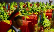 Hàng nghìn người viếng 22 quân nhân Đoàn 337 hy sinh trong trận sạt lở ở Quảng Trị