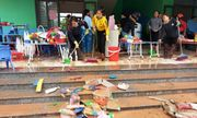 Sáng nay (22/10), hơn 100 nghìn học sinh tại Hà Tĩnh đi học trở lại sau trận lũ lịch sử