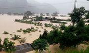 Khoảng 2.000 ngôi nhà tại Quảng Bình vẫn bị ngập trong nước lũ