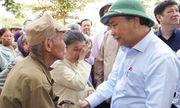 Chùm ảnh: Thủ tướng thăm hỏi, động viên bà con vùng lũ