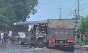 Tin tai nạn giao thông mới nhất ngày 27/10/2020: Xe tải đối đầu ô tô khách, tài xế tử vong trong cabin