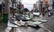 Bão số 9 suy yếu thành áp thấp nhiệt đới, miền Trung mưa lớn