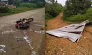 Gió cơn bão số 9 hất tấm tôn bay trúng người đi đường tử vong tại chỗ