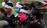 Nữ sinh học viện Ngân hàng bị sát hại: Nghẹn ngào đám tang