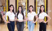 Dàn thí sinh Hoa hậu Việt Nam 2020 đồng loạt khoe chân dài, vén áo đọ eo thon trước thềm chung kết
