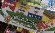 """Đường đi lắt léo của """"sức hút"""" ma quái từ làn khói ảo mang tên """"kẹo thuốc lá"""""""