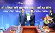 Tập đoàn Kosy bổ nhiệm Phó Tổng Giám đốc Tài chính