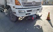Tiền Giang: Xe máy rơi vào