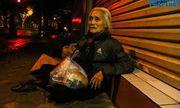 Tiếng thở dài của cụ bà 76 tuổi vô gia cư giữa đêm đông Hà Nội: