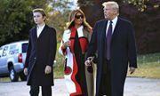 """Loạt ảnh """"Hoàng tử Nhà Trắng"""" Barron Trump, xứng danh """"tiểu soái ca"""""""