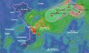 Bão số 10 vừa tan, xuất hiện bão Atsani giật cấp 12 gần Biển Đông