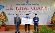 Ấm lòng lễ khai giảng của sinh viên mất cả ba mẹ trong vụ sạt lở đất ở Trà Leng