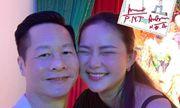 Phan Như Thảo cười hạnh phúc trong bức ảnh kỷ niệm 5 năm bên đại gia Đức An