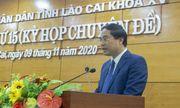 Tân chủ tịch UBDN tỉnh Lào Cai vừa được bầu là ai?