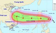 Bão Vamco di chuyển nhanh, hướng vào biển Đông, sức gió giật cấp 14