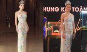 Hoa hậu Tiểu Vy diện đầm xuyên thấu khoe nhan sắc đỉnh cao nhưng bị  \