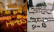 Chồng tổ chức sinh nhật cho Tuesday, vợ gửi món quà