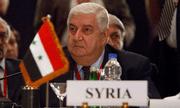 Ngoại trưởng Syria đột ngột qua đời ở tuổi 79