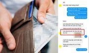 Nhận được lương cao bất thường, nam nhân viên vội vàng cảm ơn sếp liền nhận ngay tin nhắn gây