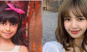 Con gái của Hoa hậu đẹp nhất thế giới có ngoại hình như chị em sinh đôi với Lisa (BlackPink)