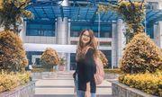 Ngắm nhan sắc ngọt ngào trên giảng đường của Hoa hậu Việt Nam 2020 Đỗ Thị Hà