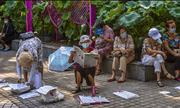 Khu chợ mai mối tại Trung Quốc tấp nập người già tới
