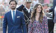 Vợ chồng Hoàng tử Thụy Điển nhiễm COVID-19