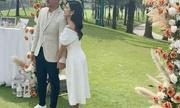 MC Thu Hoài và chồng doanh nhân tổ chức tiệc mời cưới hoành tráng ở sân golf