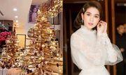 Ngọc Trinh trang hoàng biệt thự 40 tỷ đón Giáng sinh, lộng lẫy từng chi tiết khiến người xem lóa mắt